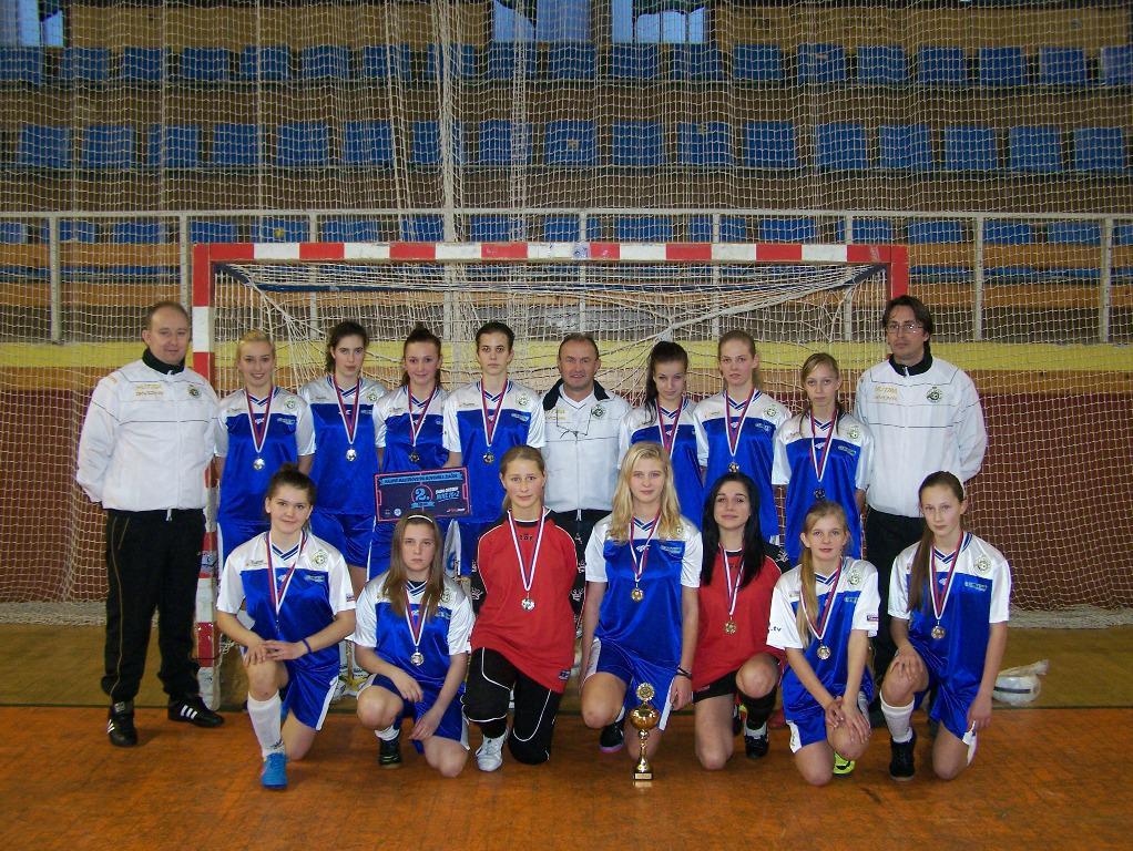obr: ŽIAČKY FC BANÍK HN DRUHÉ NA HALOVÝCH MAJSTROSTVÁCH SLOVENSKA V ŽILINE