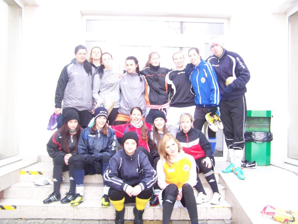 obr: Zimné sústredenie  ženy FK Baník Horná Nitra