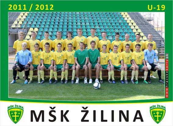 obr: U19 MŠK ŽILINA - FC Baník HN MUŽI A  2:0