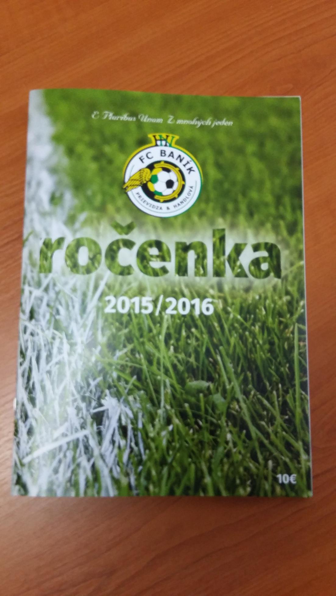 obr: Futbalová ročenka 2015/2016