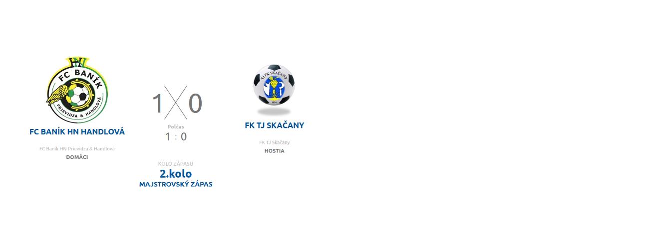 obr: Komentár Ing. I. Beláka: FC Baník HN Prievidza Handlová – FK TJ Skačany