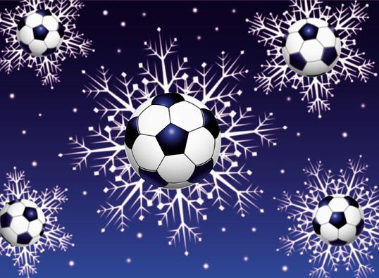 obr: Prajeme Vám čarovné futbalové Vianoce!