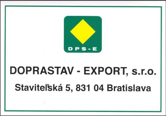obr: Predstavujeme klubového partnera: DOPRASTAV EXPORT s.r.o.