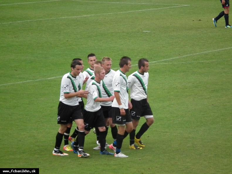 obr: MUŽI A: FC BANÍK HN - OK ČASTKOVCE