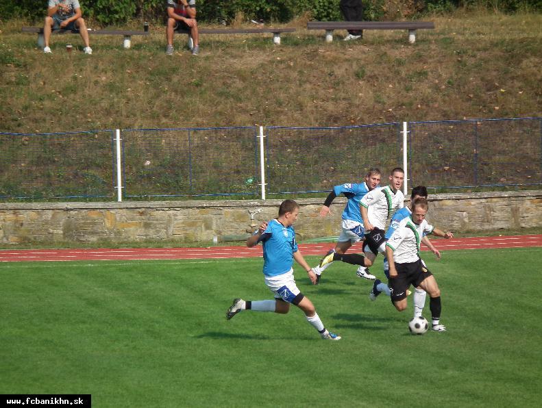 obr: MUŽI A: ISKRA HOLÍČ - FC BANÍK HN