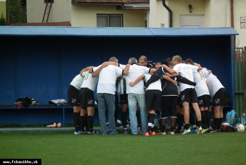 """obr: Vylosovanie FC Baník Horná Nitra – jar 2012/2013 """"A"""" muži – IV. liga SZ"""