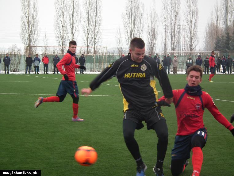 obr: PRÍPRAVNÝ ZÁPAS: VION ZLATÉ MORAVCE - FC BANÍK HORNÁ NITRA