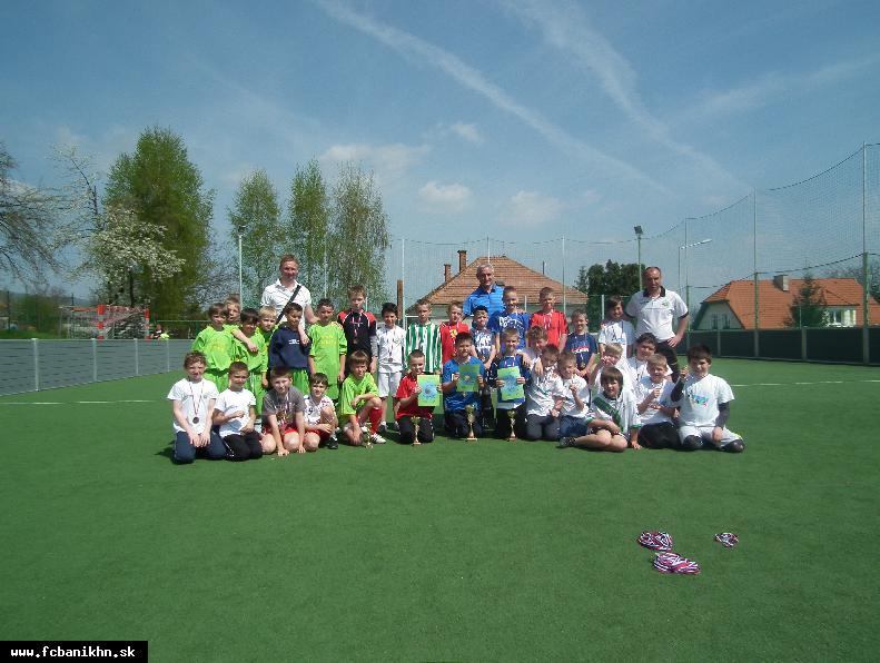 obr: Futbalový turnaj pre žiakov ZŠ pod patronátom FC Baník Horná