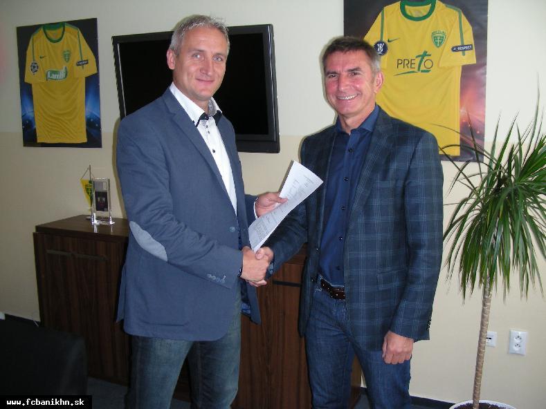 obr: FC Baník Horná Nitra nadviazal úzku spoluprácu s MŠK Žilina