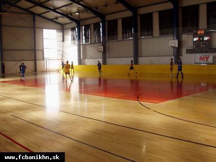 obr: Halový turnaj U 11 v Badíne