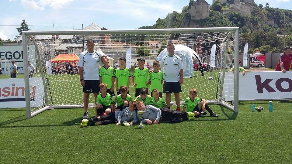 obr: Na Hviezdy deťom na Turnaji futbalových nádejí sme obsadili 2. miesto
