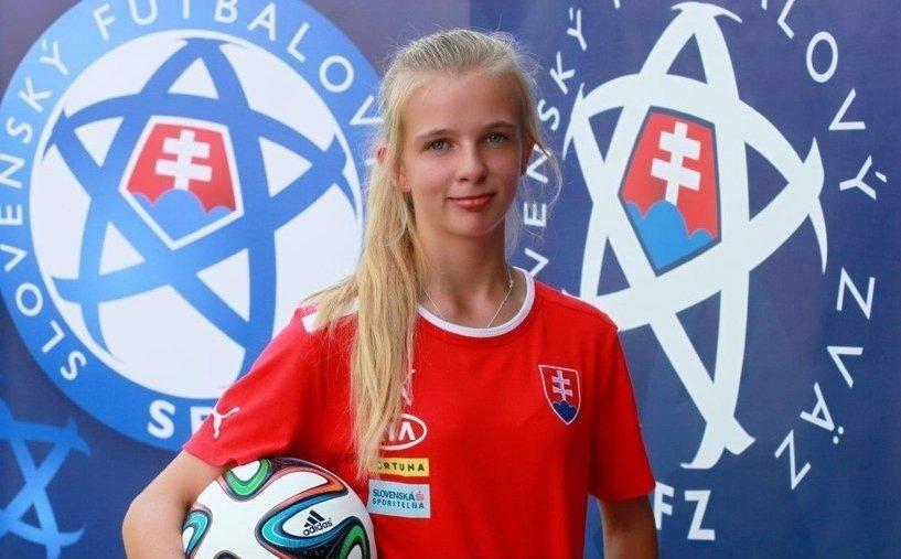"""obr: Kristína Hráďeľová: """"Futbal ma baví viac ako všetko ostatné"""""""
