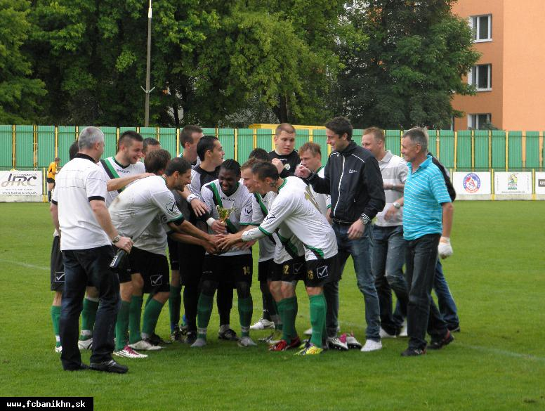 obr: FC BANÍK PLNÍ SĽUBY