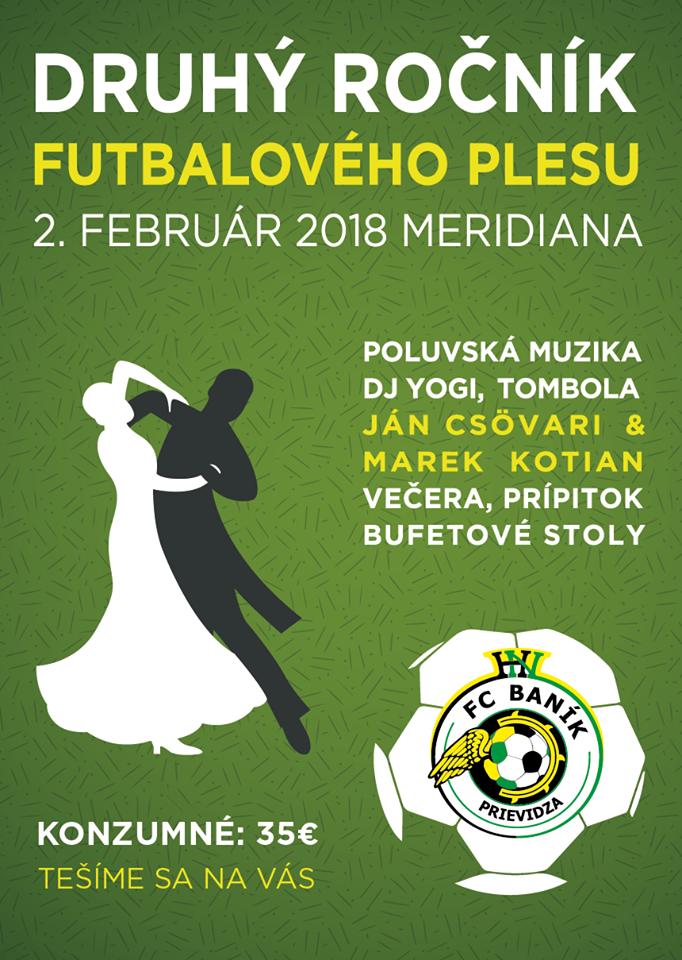 obr: 2. reprezentačný ples FC Baník Prievidza