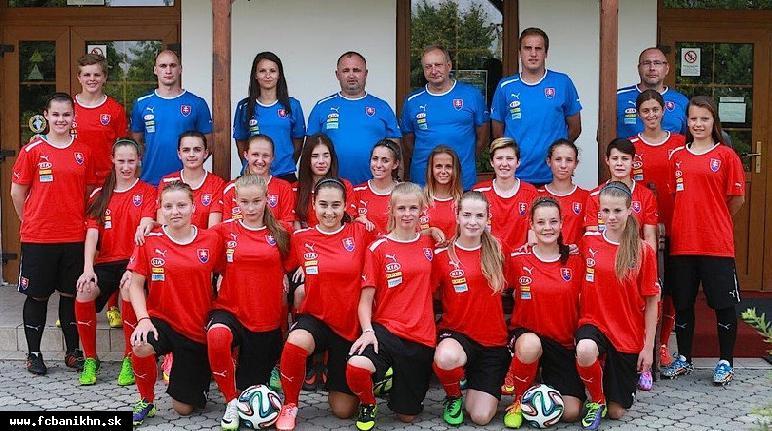 obr: Hrádeľová v drese Slovenska na mládežníckej olympiáde