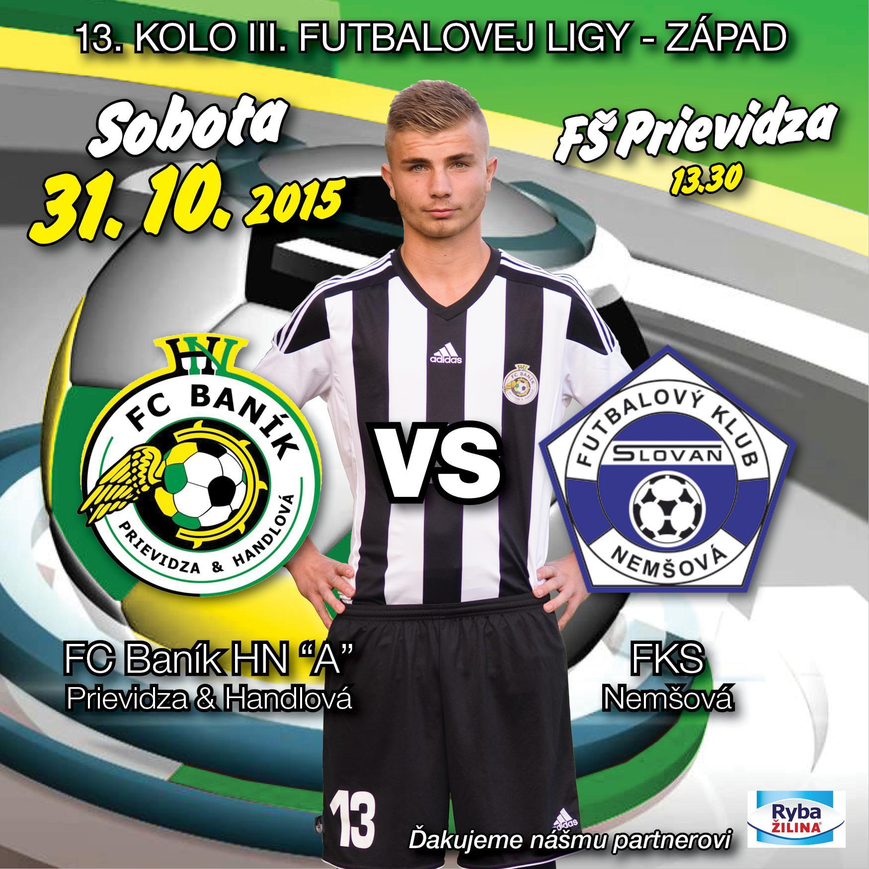 obr: FC Baník HN vs FKS Nemšová