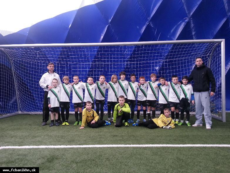 obr: Kombinačný futbal U11 slávil na Záhorí úspech